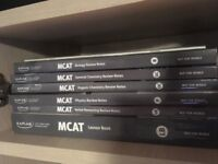 Selection of MCAT Books