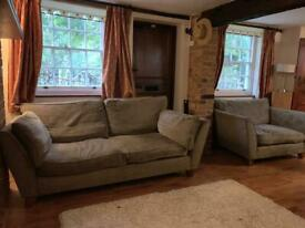 2 seater and 1 seater sofas for sale