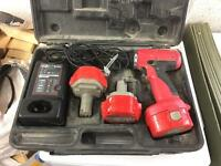 Site drill, case and charger