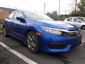 2016 Honda Civic LX Camera Bluetooth Bancs chauffants