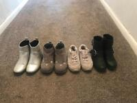Kids size 9 collection of shoes