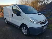 SEPTEMBER 2011 Vauxhall Vivaro (79K MILES) 2700 CDTI 113 SWB, FULL MOT, FULL VAUXHALL HISTORY