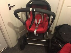 Bugaboo cam in red