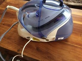 TEFAL PROTECT TURBO STEAM GENERATOR IRON. WORKING. GOOD COND.