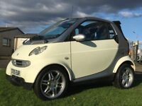 Smart Car For Two i-Move Convertible Roadster £30 Road Tax 60+ MPG Heated Leather BRABUS Alloys