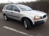 2003(53)VOLVO XC90 2.4 D5 SE AUTOMATIC MET SILVER,LOW MILES,3 OWNER,7 SEATER,LEATHER,GREAT VALUE