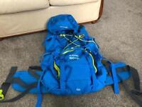Selection new camping rucksack
