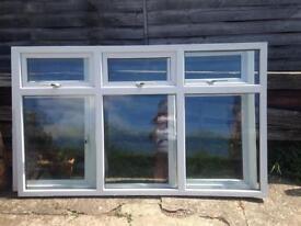Upvc window 1 triple one double
