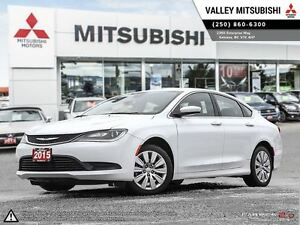 2015 Chrysler 200 LX - FWD, Remote Start, Bluetooth