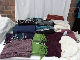 Job Lot 20 assorted Scarves hats gloves Dents Failsworth Wolsey High Street NEW collect or can send