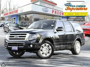 2014 Ford Expedition Limited>>>Captains' chairs & NAV<<<
