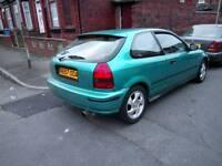Honda civic ek ej9 1.4 low miles and rust free b16 b18 h22 vti type r