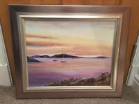 Painting of Island of Coll