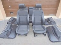 BMW X4 F26 M Power Seats / Interior. Leather black colour. Very good condition. BMW X4 Parts