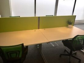 Office space/ desk to rent - prestige office £240pcm