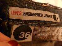 Levis twisted engineered jeans