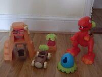 ELC Happyland dinosaur playset