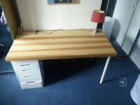 Great condition, large desk with drawers