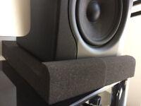 Studio Monitor Isolation - 2 Pad Set (Brand New-unboxed)