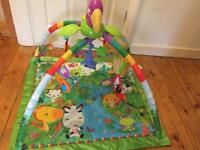 Fisher Price Rainforest Activity Musical Mat