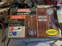 Powerfix chain hoist