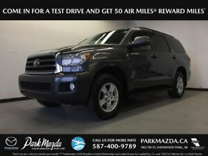 2017 Toyota Sequoia SR5 4WD - Bluetooth, Backup Cam, Heated/Leat