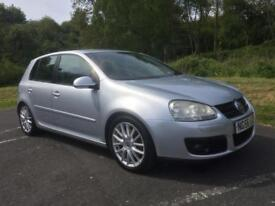 2007 VOLKSWAGEN GOLF GT SPORT 2,0 TDI 5 DOOR HATCHBACK
