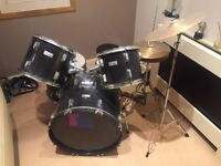 Boston-7 piece Drum Kit, good condition