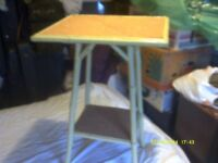 BAMBOO TABLE , a PRETTY LITTLE TABLE , VERY LIGHT FITS IN ANY WHERE . ++++++++