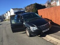 Chrysler Grand Voyager 7 Seater MPV Leather Interior