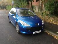 Peugeot 307 1.4 petrol 06 plate 70k miles very good runner £500