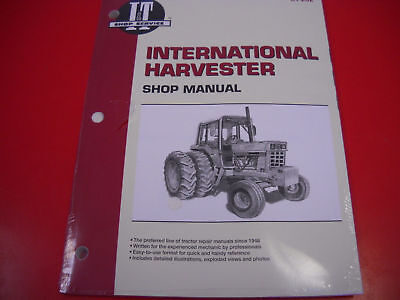 International Tractor It Shop Service Manual 544 656 666 684 686 784 884 Ih202