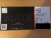 **TWO ADELE TICKETS** - THURSDAY 29TH JUNE - WEMBLEY STADIUM
