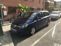 Vauxhall Zafira 1.9 diesel automatic