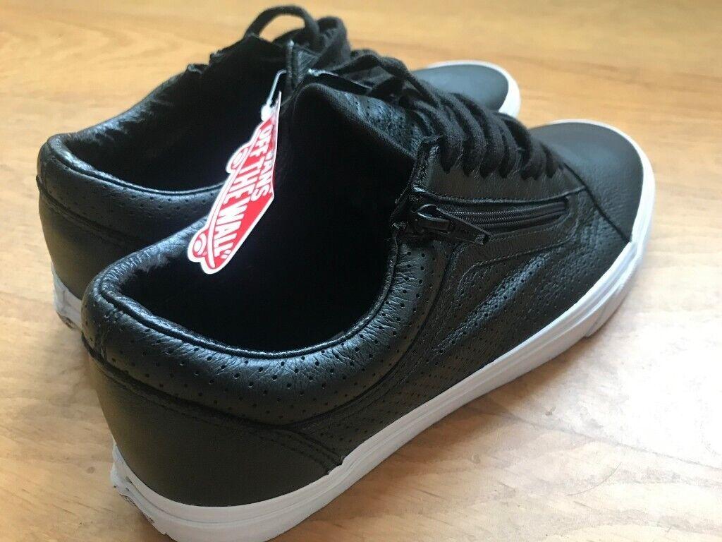 80e1fd81f6eb3 Vans Old Skool Men's Leather Trainers - NEW Black/White UK 11 US 12 EU 45  BNWT Skate | in Bristol City Centre, Bristol | Gumtree