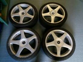 """17"""" Ford Fitment Alloy wheels 4x108"""