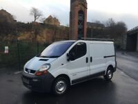2002 1.9 dci Renault Trafic van LOW 93k miles done with new MOT till 12/2018 like Vivaro primastar