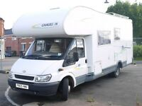 6 Berth Motorhome - Chausson Welcome 28 - Low Mileage - REDUCED