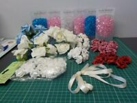 SELECTION OF CRAFT GOODS SUITABLE FOR TABLE DECORATION(WEDDING ETC)