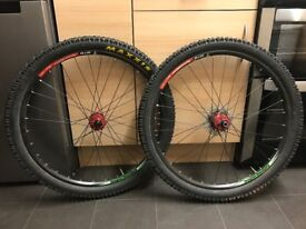 Hope Pro 2 Wheelset red 26""