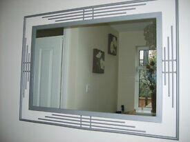 Large Metal Mirror