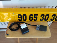 Aquila taxi meter and printer & new style sign