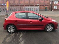 Peugeot 207 1.6 diesel MOT low mileage only 77,000 on the clock good condition £20 road tax