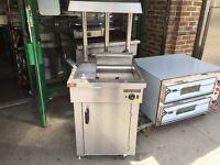 CATERING COMMERCIAL NEW CHIP DUMP SCUTTLE CHIPS WARMER MACHINE FAST FOOD RESTAURANT TAKE AWAY