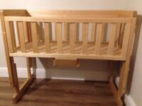 Kiddies Kingdom Bedside Crib