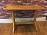 SOLID PINE DESK - HEAVY - CAN DELIVER - TABLE