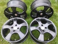 Mille Miglia spider alloy wheels 16x7 ET37 MX5 4x100 - Please read carefully