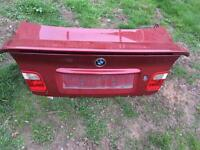 BMW e46 boot lid with spoiler
