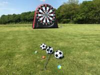 Inflatable Football/Golf Dart Board (Hire)