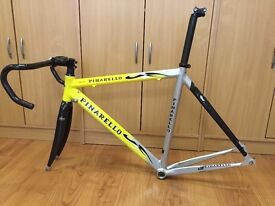 Road bike frame set - 2003 Pinarello Prince Alu / Carbon Frameset.